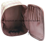 Alta qualidade Male Wash Promotional Cosmetic Bag com Double Layers