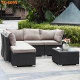 Mobília ao ar livre do Rattan do sofá secional para qualquer tempo do sofá