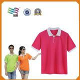 T-shirt à séchage rapide de polo de sport d'ajustement mince fait sur commande d'impression (HYT-s 03)