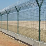 Galvanzied und PVC Coated Military Security Electric Welded Fence Panel Wire