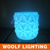 빛을내는 나이트 클럽 의자 LED 바 가구