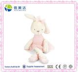 Grand palier mou de gosse de bébé de jouet de lapin de lapin de peluche