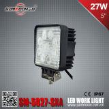 5 indicatore luminoso del lavoro di azionamento di pollice 27W LED per l'automobile Suvs
