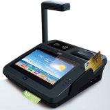 Terminal androïde de position certifié par EMV de BRI de FCC de la CE avec le scanner du code barres 3G/NFC/RFID/2D