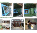 Guichet en verre de tissu pour rideaux en aluminium thermique de rupture (Alu-CW24)