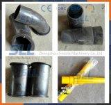 Shotcrete-Maschinen-übermitteln tragende Teil-Sprühersatzdüse Schlauch-Platten