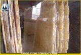 Роскошные желтые плитки мрамора Onyx