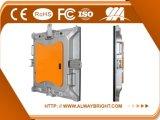 Diodo emissor de luz video da parede P4 do diodo emissor de luz do arrendamento interno de alta resolução que anuncia o painel de indicador