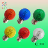 Nuevo LED S14 Red Colored E27 1.5W Party Light Bulbs