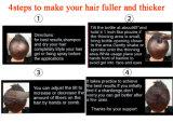 Fibra istante superiore dei capelli dei prodotti per i capelli di ricrescita di ripristino dei capelli