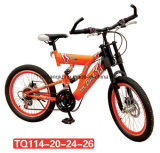 Double suspension MTB/Bike pour l'adulte