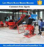Komprimierte Ziegeleimaschine des Boden-Wt1-25
