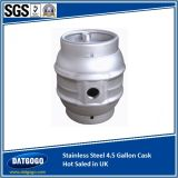 UK에 있는 스테인리스 Steel 4.5 Gallon Cask Hot Saled