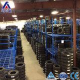 Cremalheira de exposição resistente do pneu do armazenamento do armazém