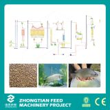 Extrudeuse de flottement d'Aquafeed de machine d'extrudeuse d'alimentation de poissons