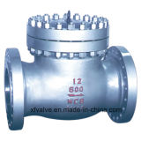 valvola di ritenuta dell'oscillazione dell'estremità della flangia dell'acciaio di getto di 150lb 300lb 600lb