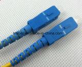 LC/Upc-Sc/Upc Singlemode DuplexKoord van het Flard van de Vezel Optische