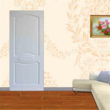 Color blanc Modern Interior Wooden Door Bedrood Door avec Steel Security