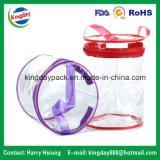 プラスチックハンドルが付いているPVC袋
