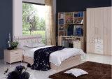 Los muebles del dormitorio fijan la cama de madera del hotel del tablero de lujo de la melamina