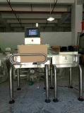 높은 정밀도 +-0.5g 온라인 검사 무게를 다는 사람 기계
