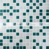 mosaico di vetro della miscela di 20X20mm dell'anti fusione calda blu di slittamento (BGE011)
