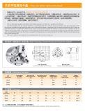 Mandrin hydraulique creux Bk160 de 3 maxillaires