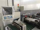 Bolso plano caliente usado de la película plástica de la tela de la venta que forma la máquina