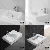 Vanità sanitaria di superficie solida della stanza da bagno del lavabo degli articoli