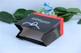 Saco de papel luxuoso do presente da impressão UV do ponto para a jóia