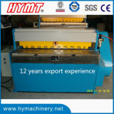 QH11D-3.5X1250 High Precision Mechanical Guillotine Shearing Machine/machine découpage en métal
