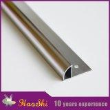Ajuste cuarto de aluminio del azulejo de la dimensión de una variable redonda