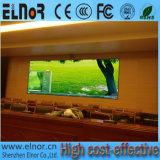 Pantalla a todo color de interior de la alta calidad P6 LED