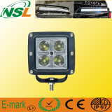 CREE 16W 4LED Flood/Spot Beam Work Light, 12V de Jeep Boat Truck SUV 4WD ATV UTV Op zwaar werk berekende Vehicle Lamp van ATV