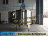 Pasteurisateur en lots d'acier inoxydable (pasteurisateur en lots de lait)
