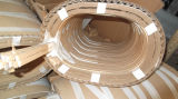 El Papel Cubrió el Alambre Rectangular de Aluminio Aislado