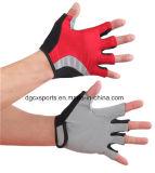 Im Freiensport-Handschuhe mit dem halben Finger