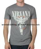 T-shirt de l'été de coton de qualité de mode des hommes faits sur commande d'impression
