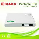 Mini UPS da C.C. para o router, câmera, saída do CCTV 5V 7V 9V 12V