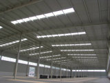 Prefabricated 가벼운 계기 강철 구조물 작업장 프로젝트