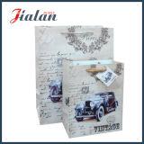 Großverkauf Cusomize Firmenzeichen gedruckt mit Hangtag-preiswertem Papiergeschenk-Beutel