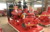 Bomba de incêndio do motor Diesel, bomba de incêndio do motor elétrico, pressão ajustada da barra 1250gpm/9 da bomba do jóquei