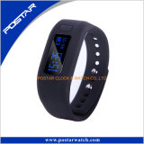 Fascia astuta del silicone del telefono mobile dell'orologio del telefono del pedometro del video di frequenza cardiaca
