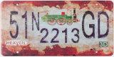 Nieuw Ontwerp 15X31cm Nummerplaat van het Decor van de Bar of van de Staaf