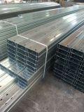 Las correas Shaped de acero del canal de la sección del edificio C Z de la pared de la azotea del taller del almacén de la estructura de la alta calidad venden al por mayor