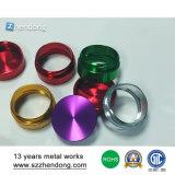 13 años de la experiencia de la alta calidad del CNC de piezas de aluminio de la máquina con anodizado