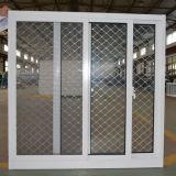 Finestra di scivolamento di alluminio rivestita di Andoized Surfacement della polvere Kz119 con la rete di Buglar dell'acciaio inossidabile