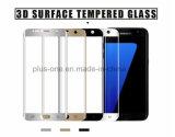 3D a courbé le protecteur polychrome d'écran en verre Tempered de couverture de 0.33mm que 9h Anti-Rayent le film d'écran pour Samsung S7