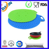 Supporto della vaschetta del silicone della lavapiatti/rilievo sicuri della vaschetta