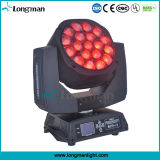 Bee Eye Stage Equipment RGBW 19 por 15W Zoom LED PAR Moving Head